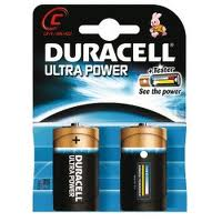 Duracell Ultra Power C 2pk