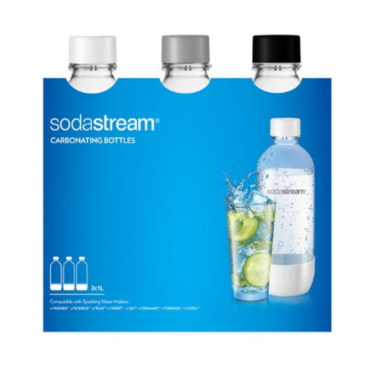 Sodastream PET flaska 1Lit  3-pack